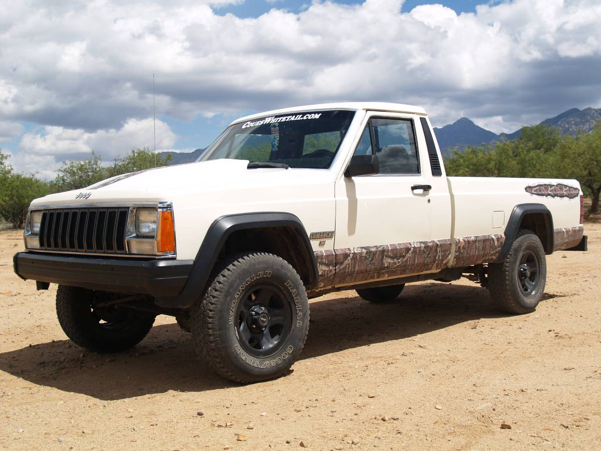 1986 jeep comanche 3 1l v6 auto for sale in green valley tucson az. Black Bedroom Furniture Sets. Home Design Ideas