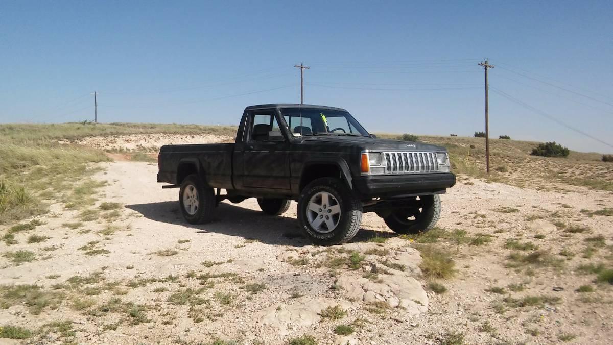 1987 Jeep Comanche Chief 4.0L I6 Manual For Sale in ...
