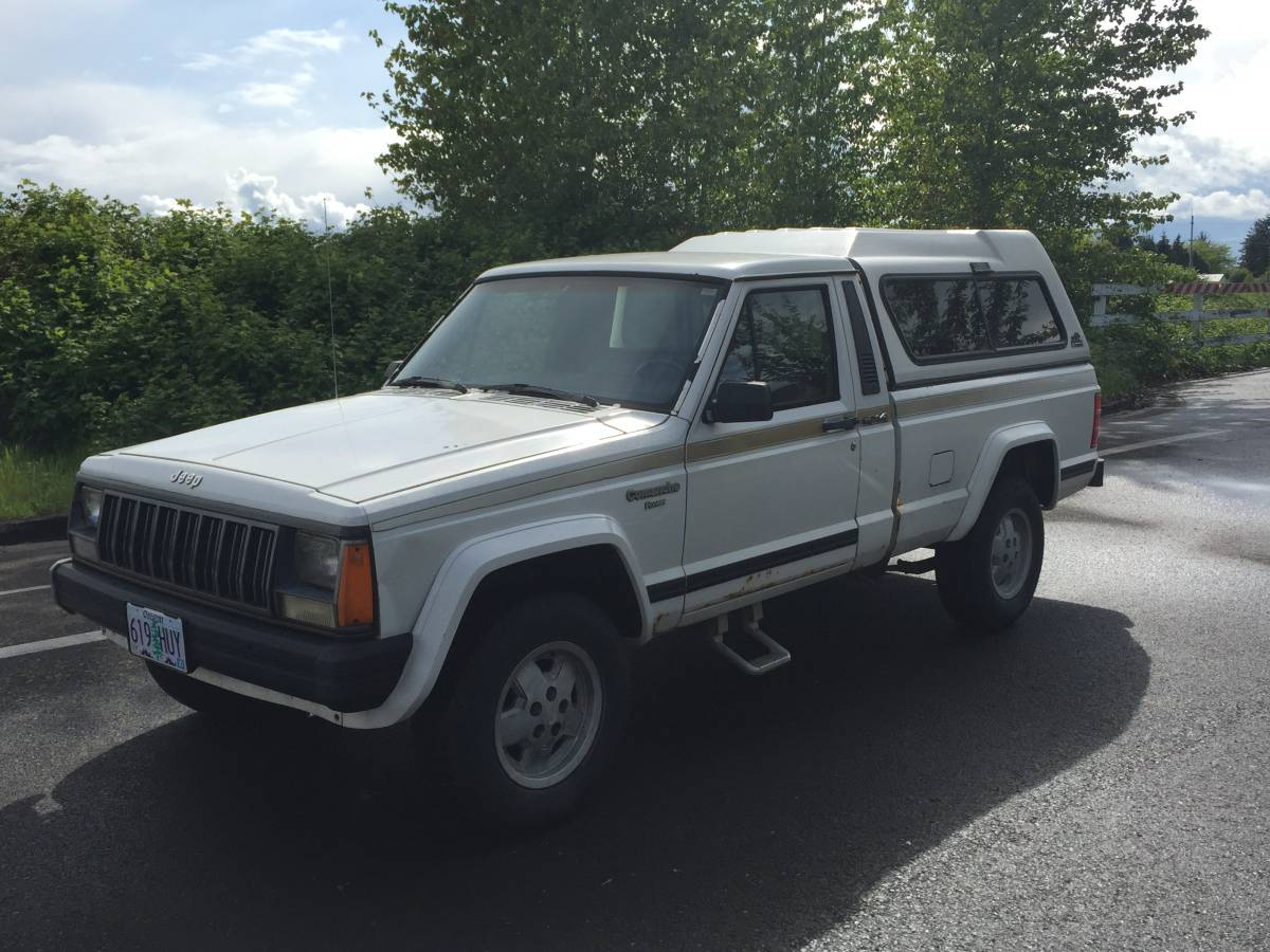 1988 Jeep Comanche Pioneer V6 Manual For Sale in Albany ...