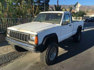 jeep comanche for sale in california mj 1986 1992 trucks parts. Black Bedroom Furniture Sets. Home Design Ideas