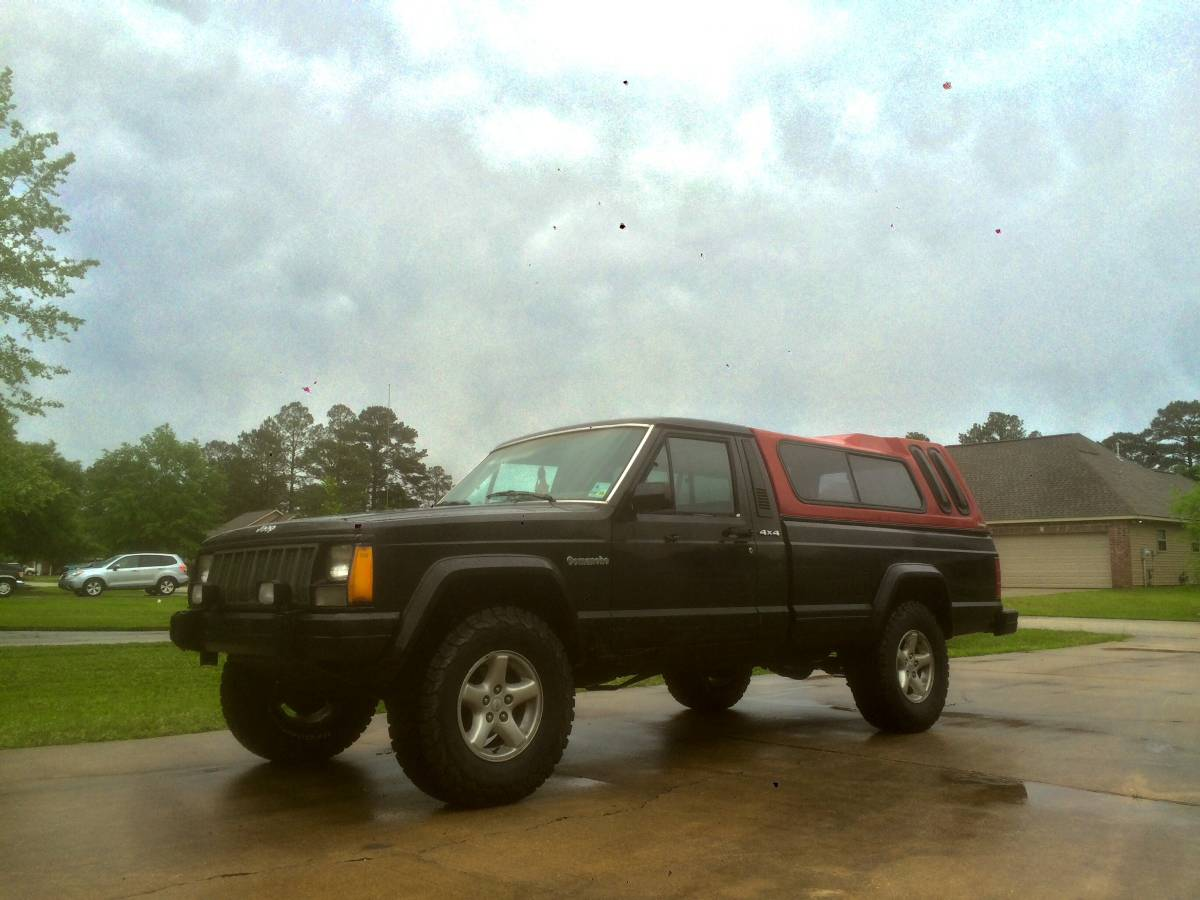 1988 jeep comanche 4x4 4 0 v6 auto for sale in new orleans la 5 500. Black Bedroom Furniture Sets. Home Design Ideas