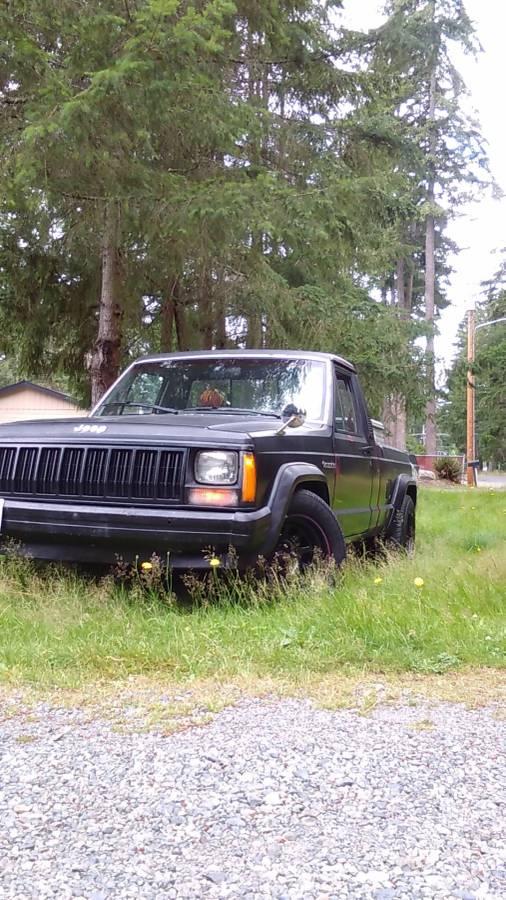 1988 Jeep Comanche V4 Manual For Sale In Tacoma Wa 2 600