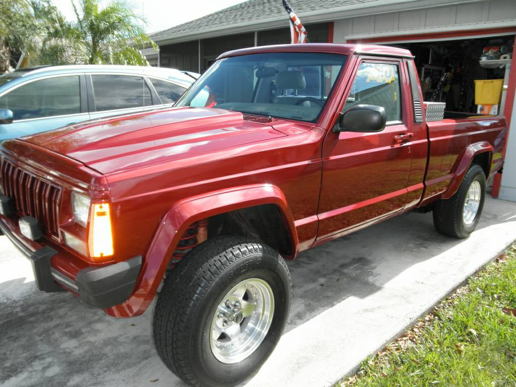Jeep Chief Concept For Sale >> 1988 Jeep Comanche Custom V8 Auto For Sale in West Palm Beach, FL - $17,000