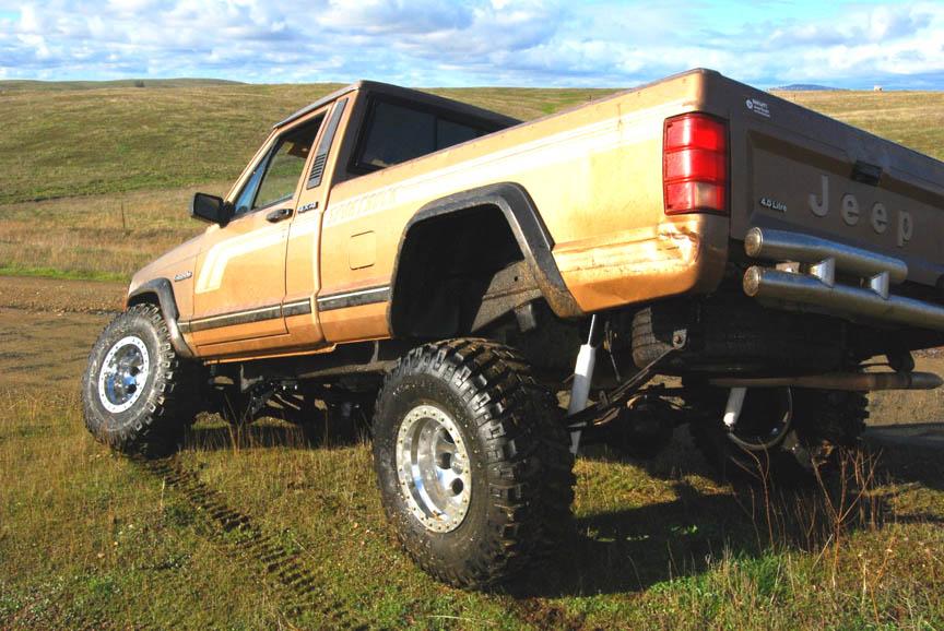 Lifted Trucks For Sale Edmonton: Lifted Jeep Comanche: 4X4 Build Ideas, Truck Pics