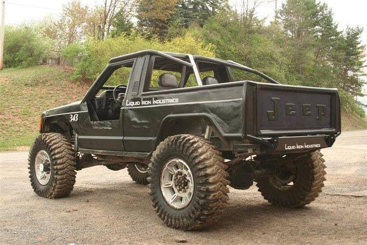 Lifted Jeep Comanche 4x4 Build Ideas Truck Pics Suspension Off Road
