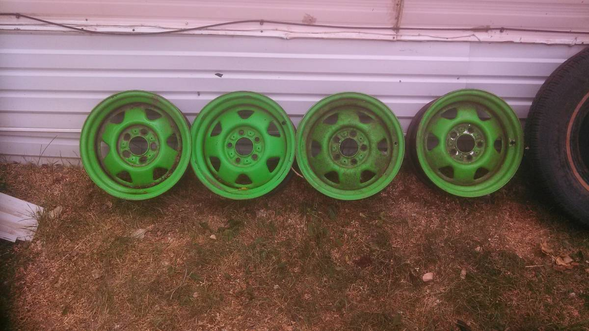 Jeep Comanche Rims and Tires For Sale in Rapid City, SD - $50