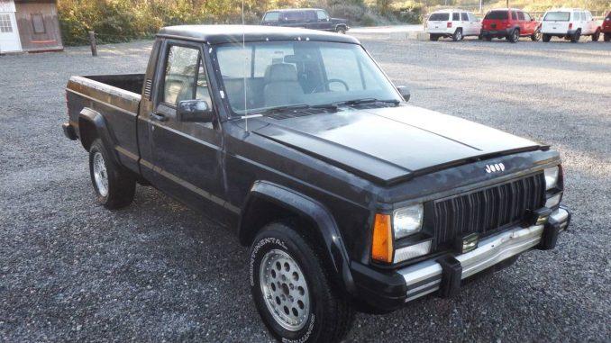 1988 jeep comanche eliminator 4 0 auto for sale in chicago il 1 800. Black Bedroom Furniture Sets. Home Design Ideas