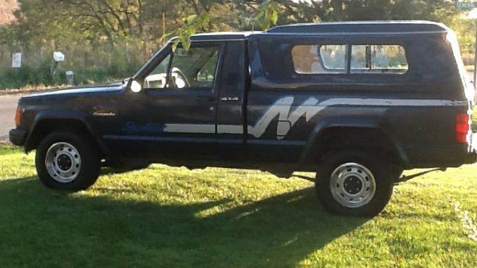 1991 jeep comanche sport 4 0l v6 manual for sale in galena il 6 999. Black Bedroom Furniture Sets. Home Design Ideas
