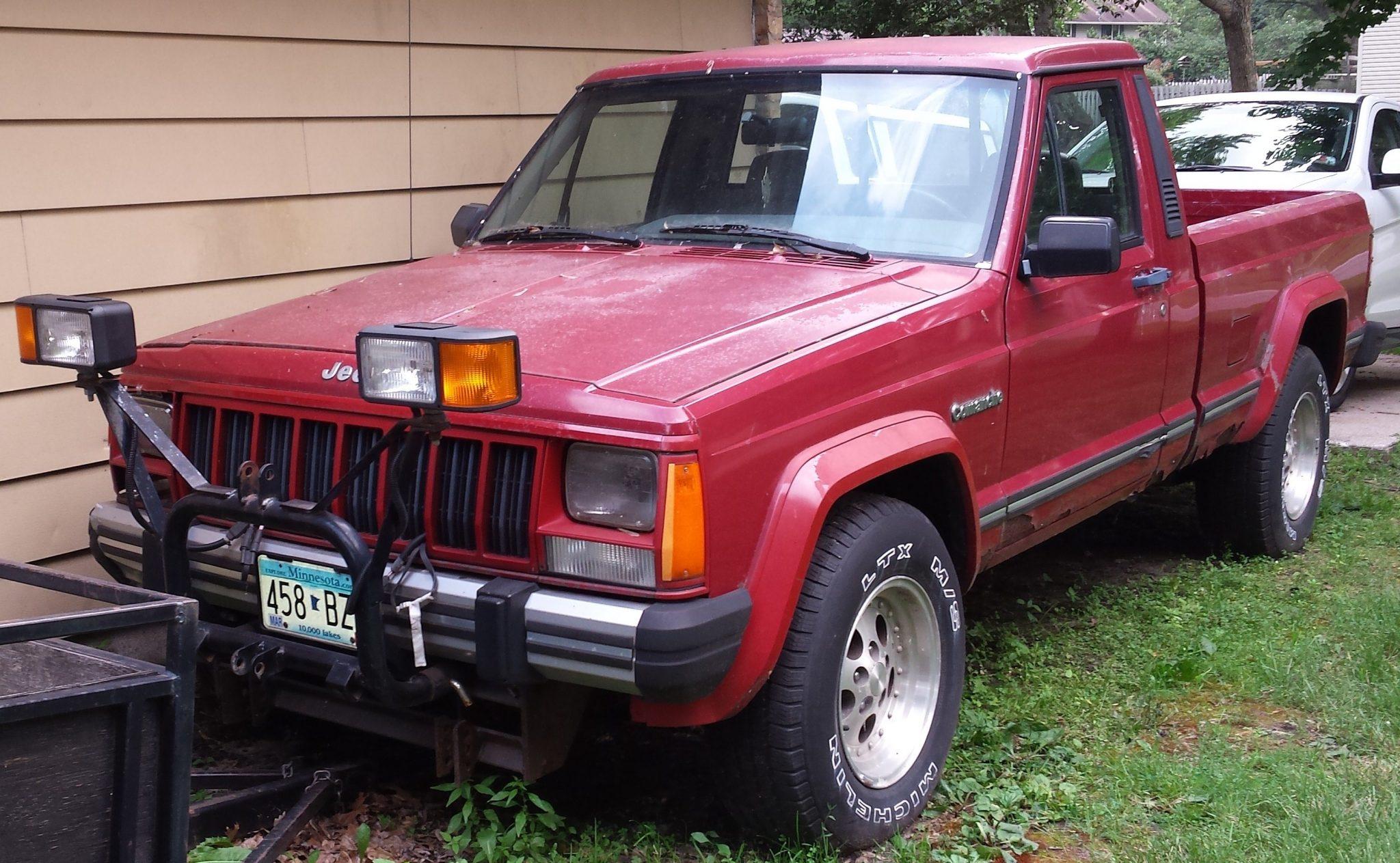 1988 jeep comanche eliminator 4 0l 5spd for sale in coon rapids mn 2k. Black Bedroom Furniture Sets. Home Design Ideas