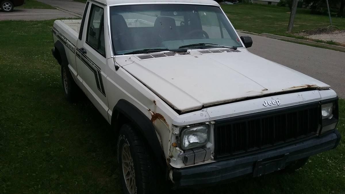 1987 Jeep Comanche 4.0L V6 Manual For Sale in Cedar Rapids ...