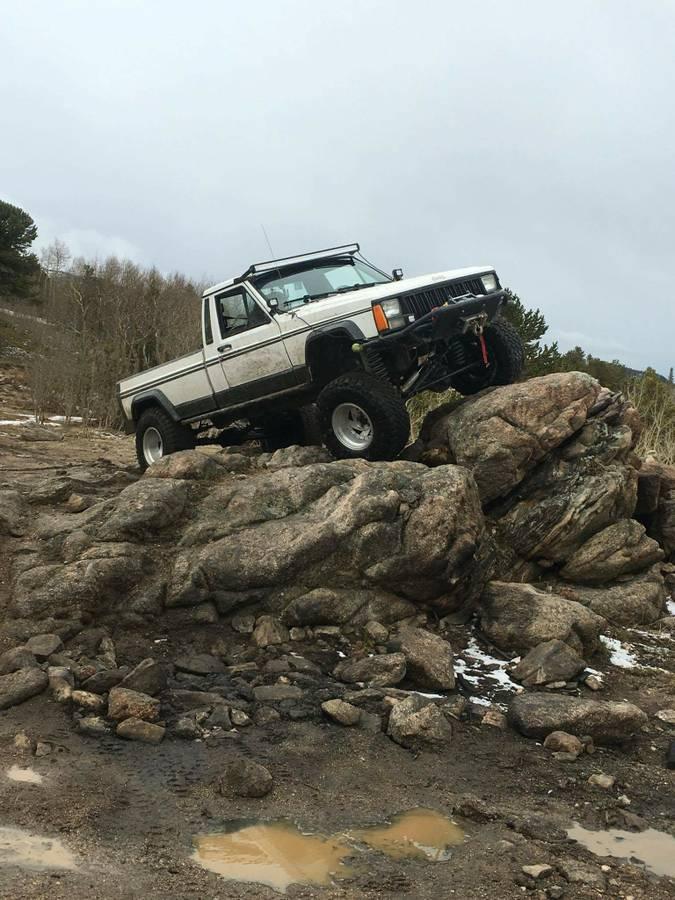 1989 Jeep Comanche Custom V6 Manual For Sale in Denver, CO ...