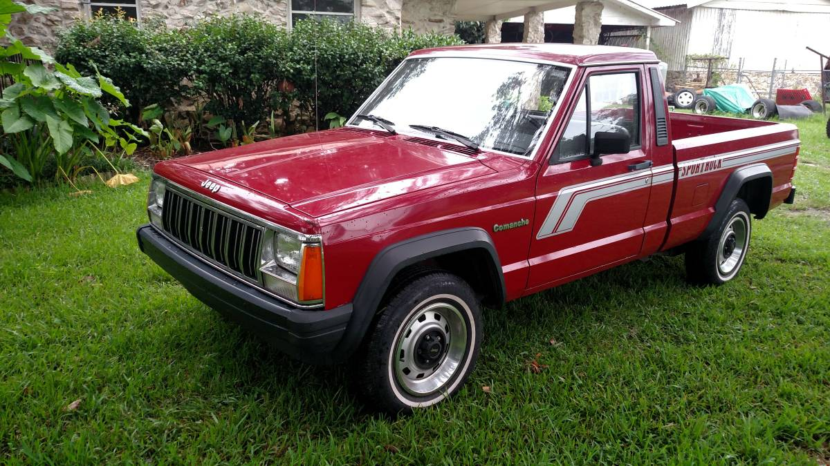 1988 Jeep Comanche Sport V4 Manual For Sale in Ocala, FL ...