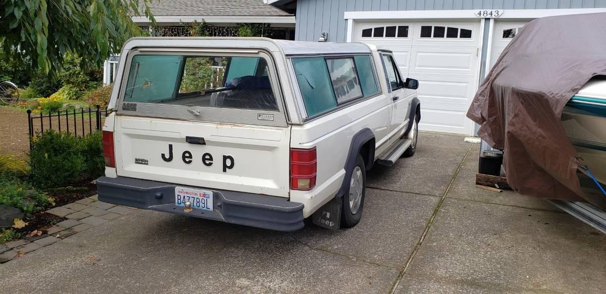 1986 Jeep Comanche 2x4 4 Cyl Auto For Sale in Beaverton ...
