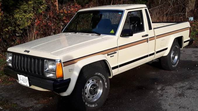 Ad Updates for April 1st 2020 - Jeep Comanche MJ For Sale