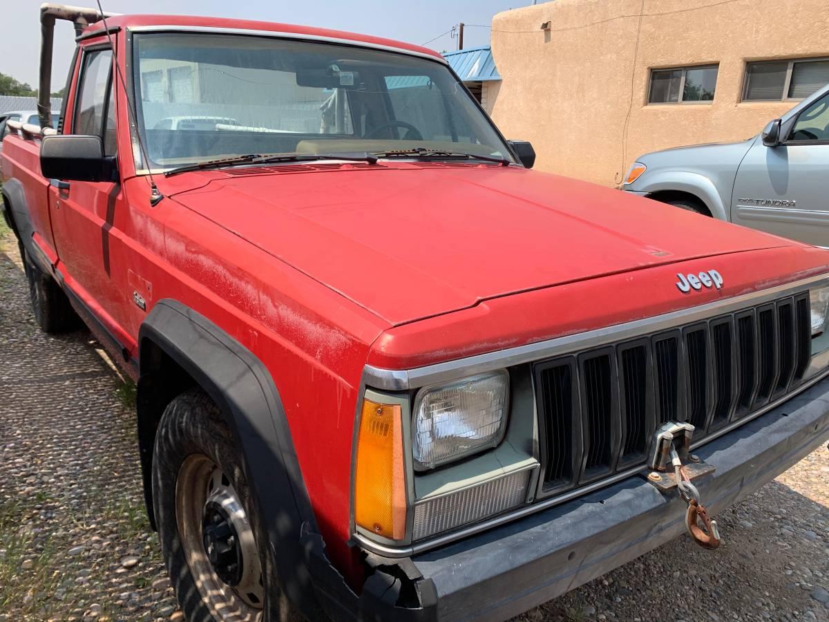 1986 Jeep Comanche 2.5L Manual For Sale in Albuquerque, NM ...